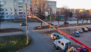модернизация наружного уличного освещения