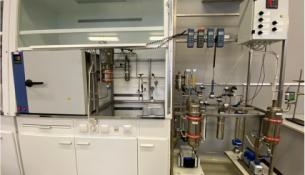 Лабораторная установка для проведения испытаний сорбентов