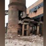 Последствия мощного взрыва на ТЭЦ в Ленобласти попали на видео