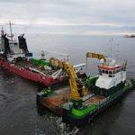 В Обской губе поставлен российский рекорд по объему дноуглубительных работ в рамках одного проекта