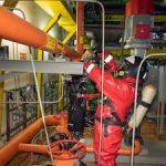 На Калининской АЭС ликвидировали условный разлив химически опасных веществ и нефтепродуктов