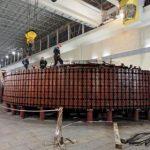 Ленинградский металлический завод изготовил второй направляющий аппарат для Майнской ГЭС