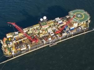 баржа Фортуна Северный поток-2