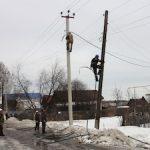В Витебской области восстановили электросети после снегопада и ледяного дождя