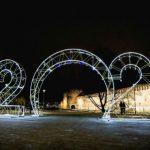 Россети Центр Смоленскэнерго зажгли праздничные инсталляции в Смоленске