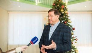 Глава администрации Старооскольского городского округа Александр Сергиенко