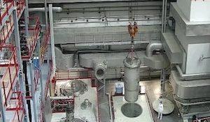 Загрузка MOX-топлива на Белоярской АЭС