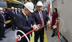 открытие электрического котла в котельной «Рогачевская»