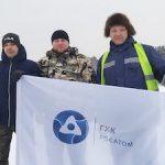 Работники автотранспортного цеха ГХК стали чемпионами Железногорска по автогонкам на льду