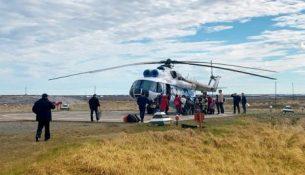 газпром недра вертолет