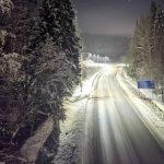 Федеральная трасса «Сортавала» получила дорожное освещение на российско-финской границе
