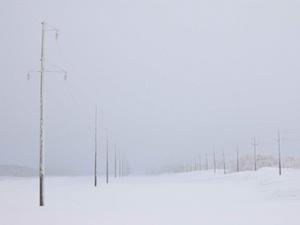 зима непогода опоры