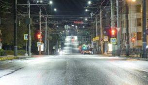 Россети Центр и Приволжье Удмуртэнерго город улица освещение