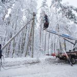 «Россети Ленэнерго» повысили надежность электроснабжения 1,5 тысяч жителей Лодейнопольского района Ленинградской области
