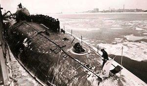 атомная подводная лодка «Пантера» проекта 971