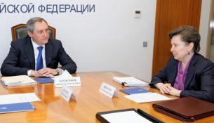 Николай Шульгинов и Наталья Комарова