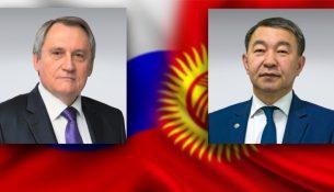 Николай Шульгинов и Жыргалбек Сагынбаев