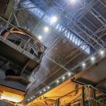 ММК им. Ильича сэкономит миллион киловатт-часов в год благодаря LED-светильникам