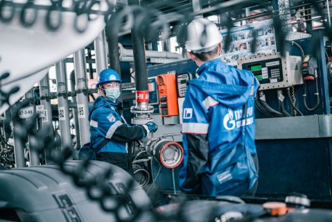 Московский НПЗ «Газпром нефть»