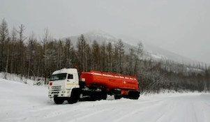зима бензовоз