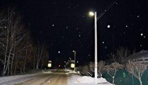 улица освещение