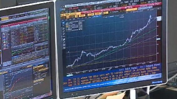 график акции биржа