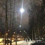 «Ленсвет» установил светодиодные фонари на Суздальском проспекте