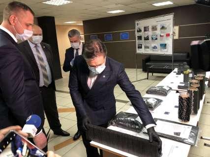 Лихачев посетил ООО «ЗУКМ» в Челябинске