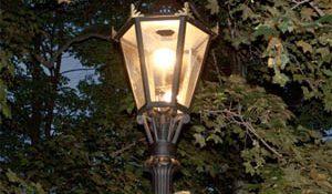 улица освещение фонарь