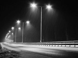 свет освещение дорога магистраль