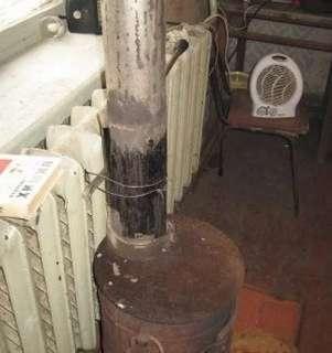 батарея отопления буржуйка холодно