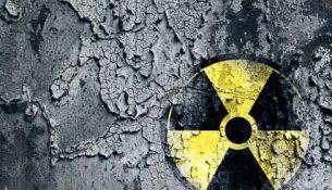 знак ядерный атомной опасности