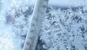 термометр уличный зима