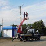 «Читаэнерго» подключает объекты уличного освещения в Забайкалье