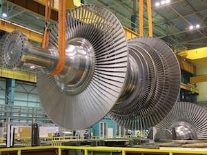 ротор паровой турбины низкого давления
