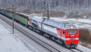 Российский магистральный газотурбовоз ГТ1h-002, РЖД