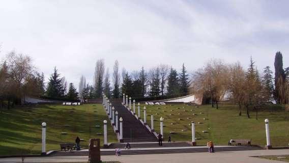 мемориал воинской Славы в микрорайоне Завокзальный города Сочи