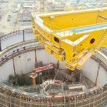 На стройплощадке АЭС «Руппур» в Бангладеш смонтированы балки полярного крана