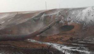 взрыв пожар труба газопровод