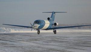 Як-40 со сверхпроводящим электрическим авиадвигателем