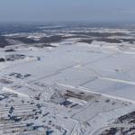 На стройплощадке Амурского ГХК забьют более 30 тысяч свай под фундамент установки пиролиза