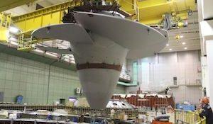 рабочее колесо Воткинской ГЭС