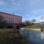 На каскаде Кубанских ГЭС строятся здания новых распределительных устройств