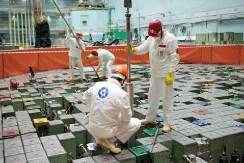 устройство извлечения фрагментов графита (УИФГ-92) на энергоблоке №1 Курской АЭС