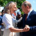 """В совет директоров """"Роснефти"""" войдет партнерша Путина по танцам из МИД Австрии (видео)"""