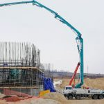На стройплощадке Курской АЭС-2 досрочно забетонирована фундаментная плита насосной станции
