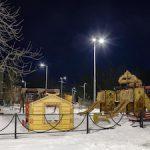 «Ленсвет» подключил построенное уличное освещение в поселке Понтонный