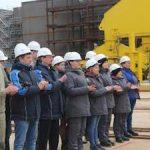 Судоверфь «Звезда» заложила первый танкер типа MR