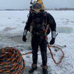 «СибурТюменьГаз» привлек водолазов к диагностике аварийного трубопровода