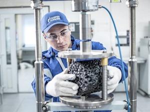 Газпром нефть лаборатория асфальт
